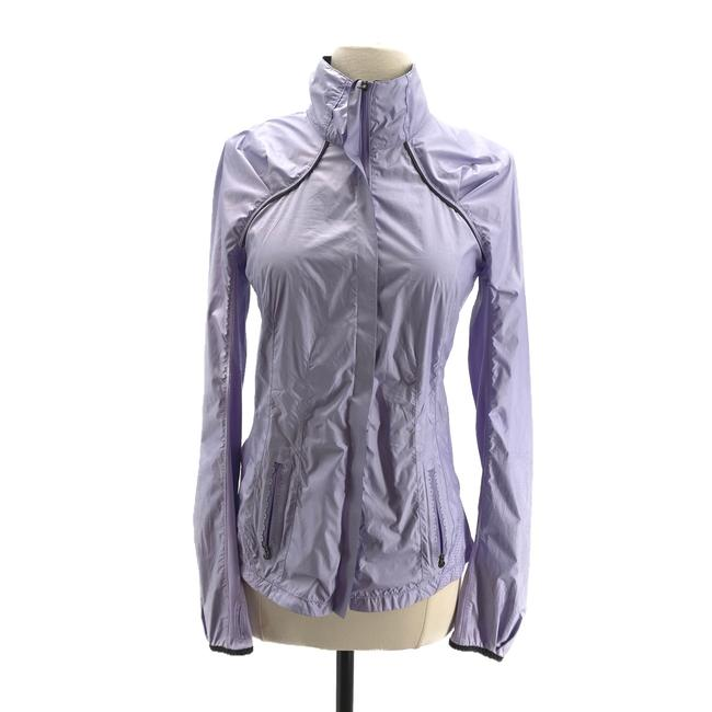 Item - Lavender Lightweight Zip-up Jacket Activewear Size 4 (S)
