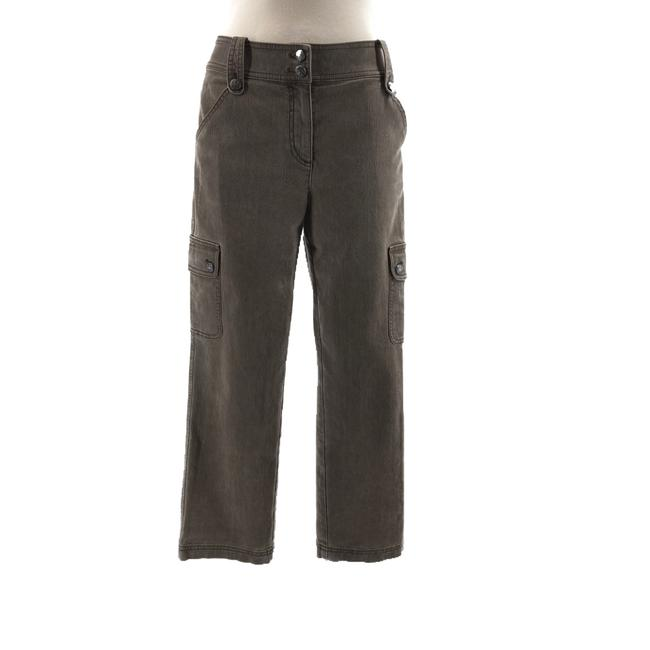 Item - Grey Cropped Pants Size 6 (S, 28)
