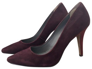 Rosegold Shoes maroon and red Pumps