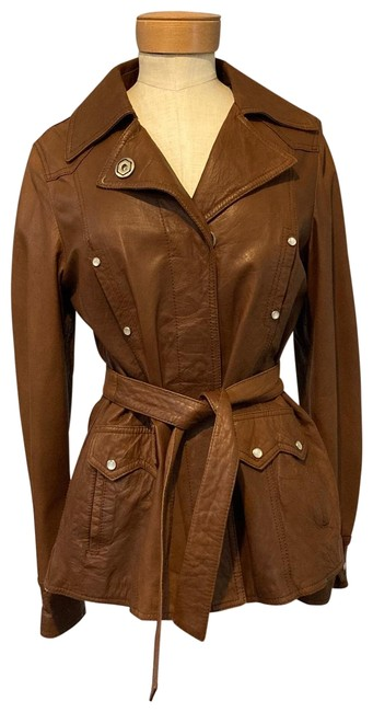 Item - Brown Western Style Jacket Size 6 (S)
