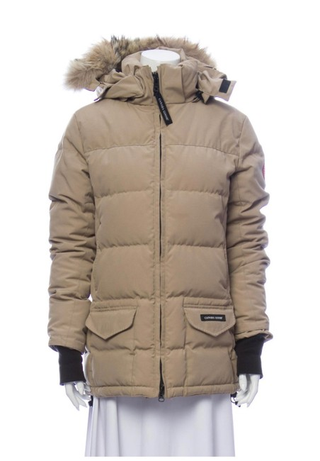 Item - Tan Parka Coat Size 4 (S)