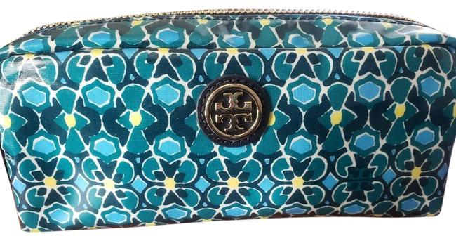 Item - Blue Mosaic Collection Cosmetic Bag