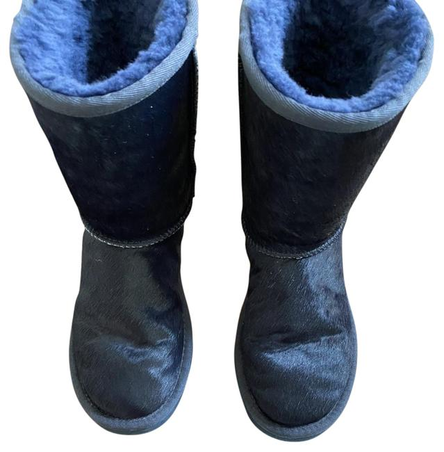 Item - Navy Blue Classic Exotic Boots/Booties Size US 5 Regular (M, B)