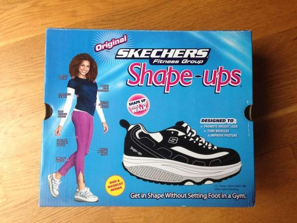 Skechers White Fitness Group Shape ups Fitness Junkie Sneakers Size US 8
