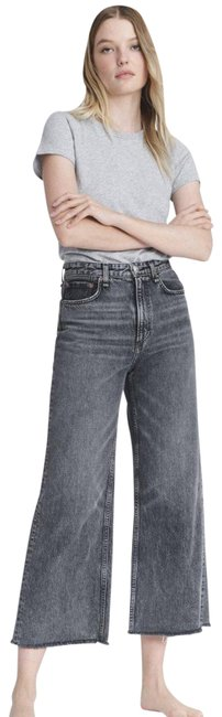 Item - Black Acid Super High-rise Straight Flare Leg Jeans Size 2 (XS, 26)