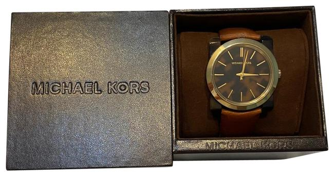 Item - Brown Leather and Tortoise Watch