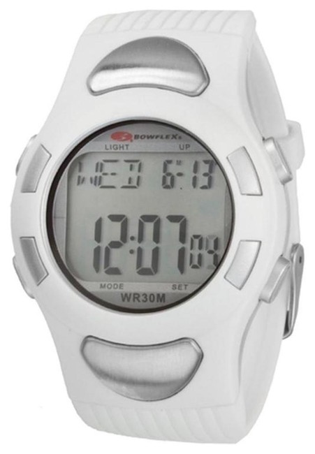 Item - White Ez Pro Heart Rate Monitor Watch