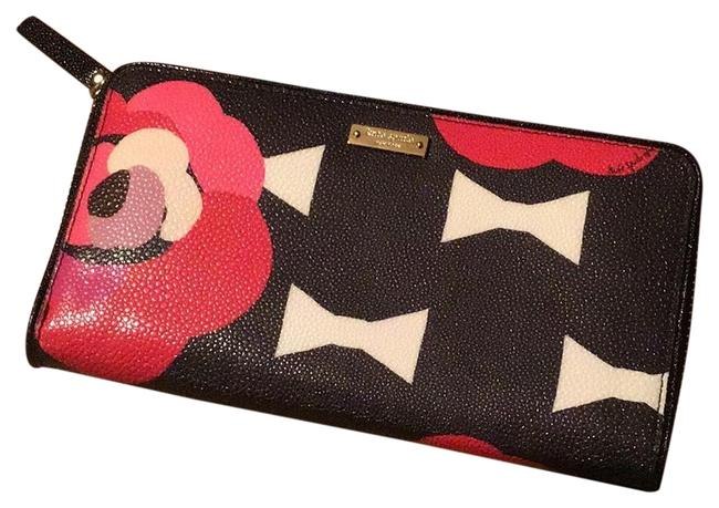 Item - Pwru3887 Lacey Red Black White Leather Clutch