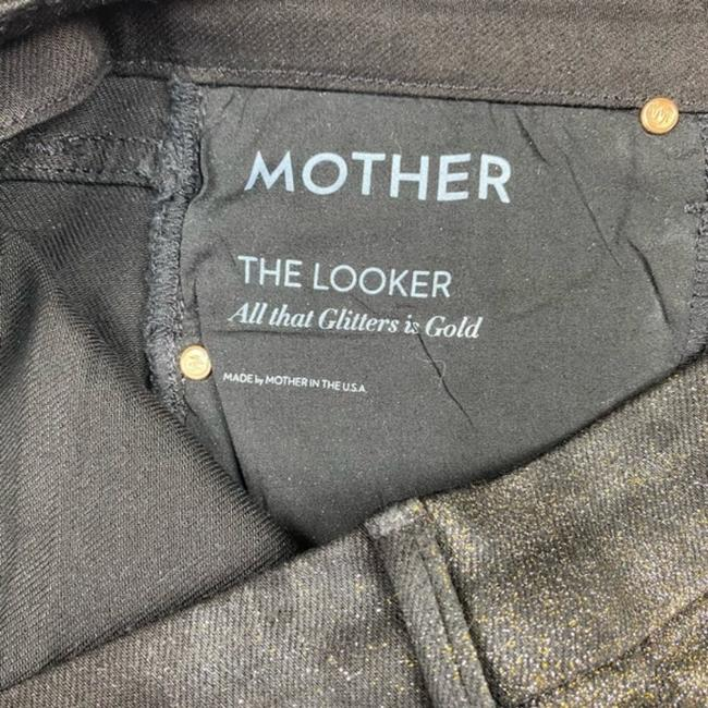 Mother Gold/Brown Coated The Looker Skinny Jeans Size 28 (4, S) Mother Gold/Brown Coated The Looker Skinny Jeans Size 28 (4, S) Image 5