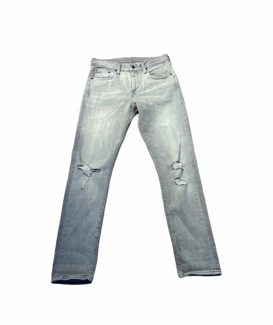 Item - Grey Distress Relaxed Fit Jeans Size 6 (S, 28)