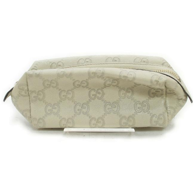 Item - Off-white Cosmetic Pouch ssima Leather Make Up Pouch 861227