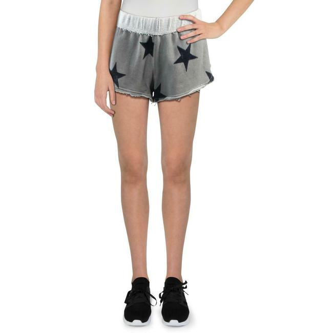 Item - Grey XS Womens French Terry Printed Pull On Casual Shorts Size 2 (XS, 26)