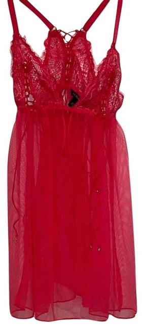 Item - Red Babydoll Small Short Night Out Dress Size 2 (XS)