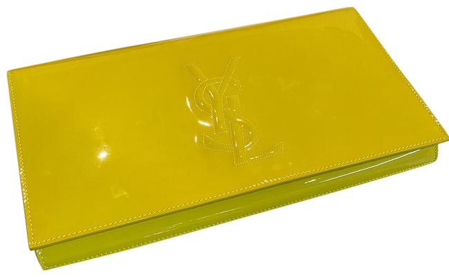 Item - Belle de Jour Yellow Leather Clutch