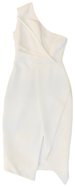 Item - White Mid-length Cocktail Dress Size 2 (XS)