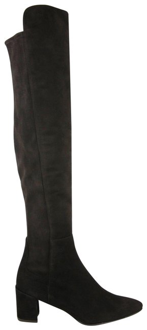 Item - Dark Brown Cola Suede Allwayhunk Over-the-knee 8w Boots/Booties Size US 8 Wide (C, D)