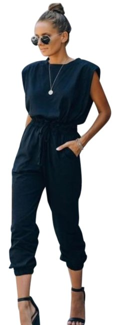 Vici Cutting Edge Cotton Pocketed Paperbag Waist New with Tag Romper/Jumpsuit Vici Cutting Edge Cotton Pocketed Paperbag Waist New with Tag Romper/Jumpsuit Image 1