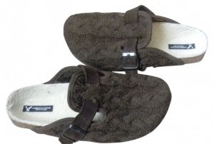 American Eagle Outfitters Brown Mules