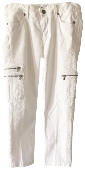 Item - White Ankle Capri/Cropped Jeans Size 4 (S, 27)