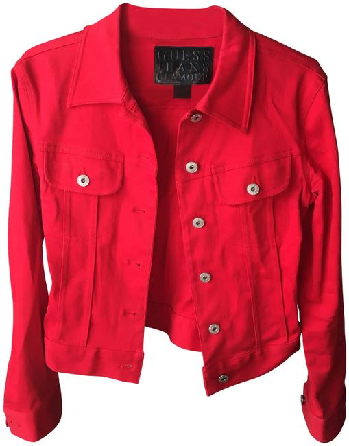 Item - Red Glamour Jacket Size 4 (S)