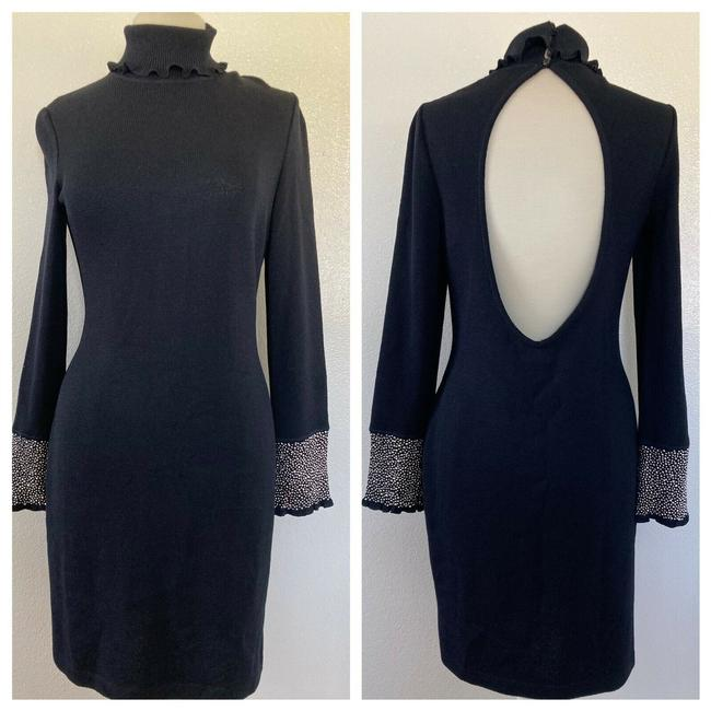 Item - Black Mid-length Formal Dress Size 6 (S)