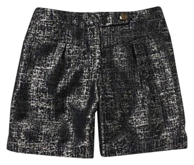 Item - Blue Silver Anthro Coquille Shimmering Street Shorts Size 8 (M, 29, 30)