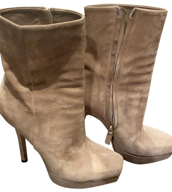 Item - Neutral Color Suede Boots/Booties Size US 6 Regular (M, B)