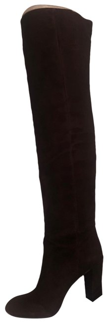Nine West Brown/Dark Brown Snowfall Over The Knee Boots/Booties Size US 6.5 Regular (M, B) Nine West Brown/Dark Brown Snowfall Over The Knee Boots/Booties Size US 6.5 Regular (M, B) Image 1