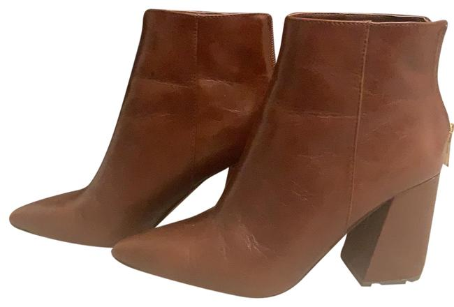Item - Brown Leather Boots/Booties Size US 7 Regular (M, B)