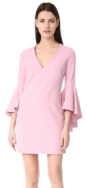 Item - Pink Petal Bell Sleeve Cady Nicole Short Night Out Dress Size 8 (M)