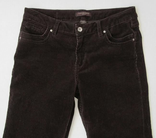 Christopher Blue Brown Stretch Corduroy Jeans Pants Size 8 (M, 29, 30) Christopher Blue Brown Stretch Corduroy Jeans Pants Size 8 (M, 29, 30) Image 4