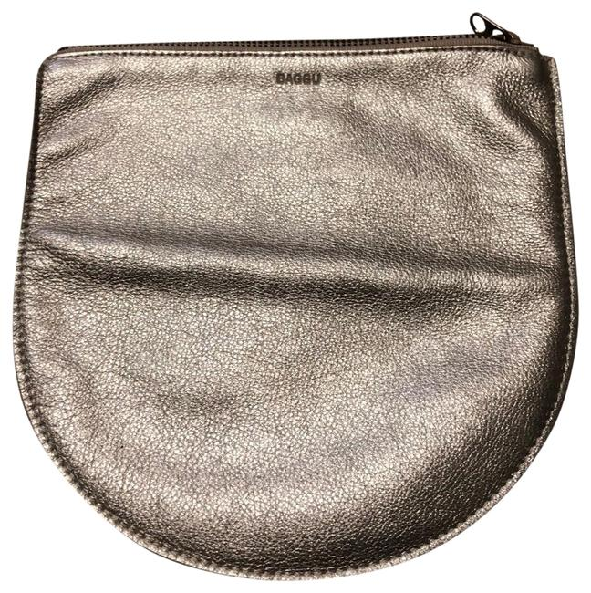 Item - Pale Gold The Large Leather Pouch