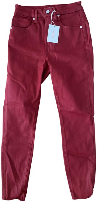 Item - Red Waist Crop Pants Size 6 (S, 28)