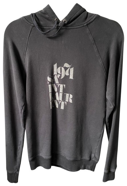 Item - Black/Dark Grey 1971 Sweatshirt/Hoodie Size 0 (XS)