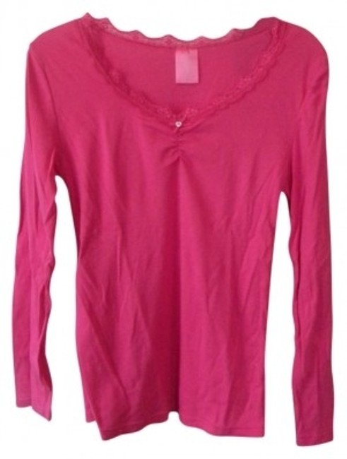 Preload https://item2.tradesy.com/images/fruit-of-the-loom-pink-night-tee-shirt-size-12-l-28121-0-0.jpg?width=400&height=650
