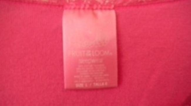 Fruit of the Loom T Shirt Pink