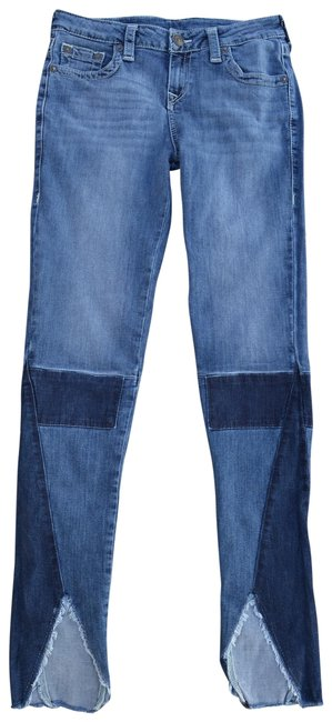 Item - Light Dark Blue Mix Skinny Jeans Size 29 (6, M)