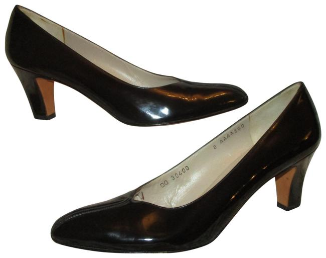 Item - Black Vintage Patent Leather Pumps Size US 8 Narrow (Aa, N)