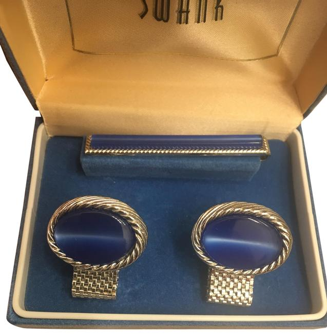 Item - Blue Sliver. Cluffs and Tie Bar Mint Condition.