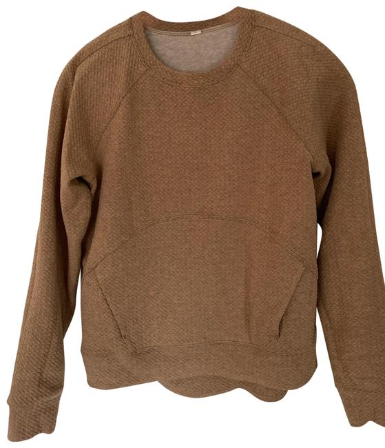 Item - Oatmeal Lined Sweatshirt Activewear Top Size 6 (S)