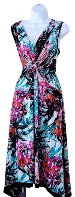 Item - Multicolored Mid-length Casual Maxi Dress Size 10 (M)