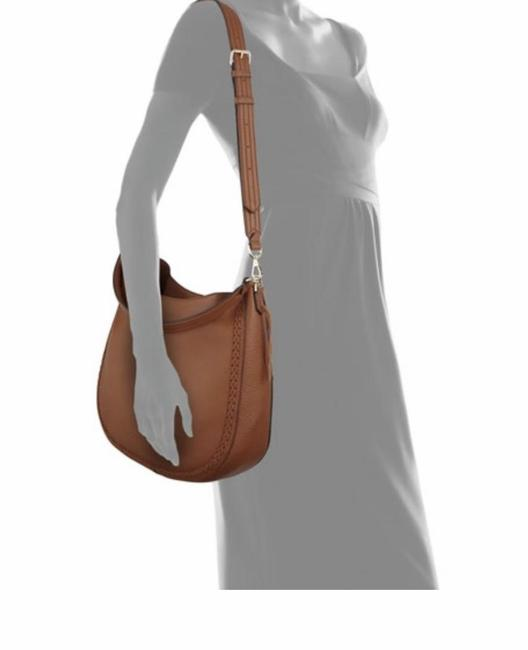 Item - Hobo Unlined Convertible Braided Almond Leather Shoulder Bag