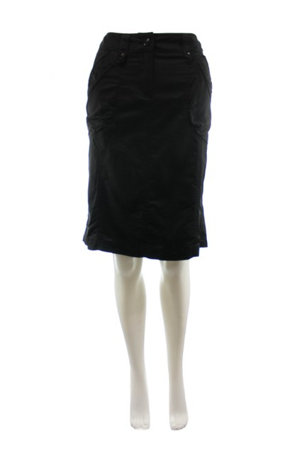 Item - Black Silk Blend New with Tags Skirt Size 8 (M, 29, 30)