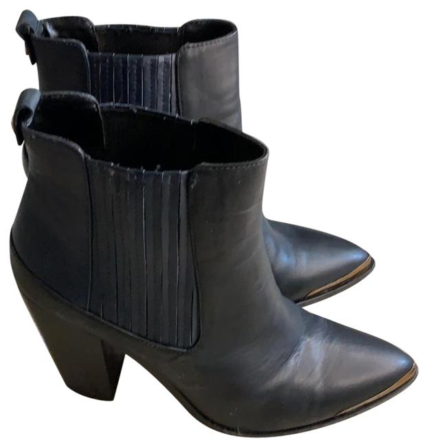 Item - Black with Navy Accents Unknown Boots/Booties Size US 9 Regular (M, B)