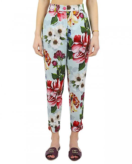 Item - Multi with Tag Floral High-rise Straight Pants Size 8 (M, 29, 30)