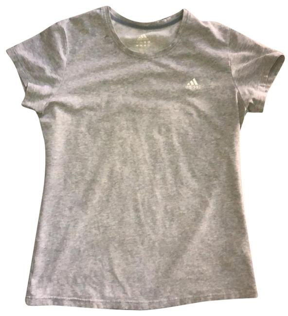 Item - Gray Stretch Sleeve Activewear Top Size 12 (L)