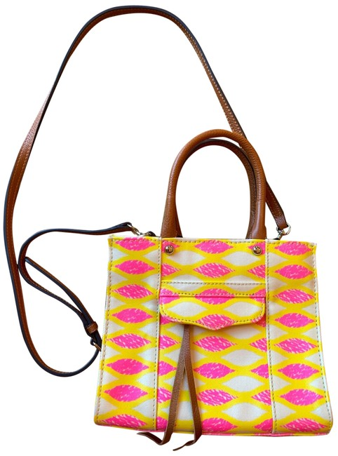 Item - 'mini Mab Tote' Multicolor Leather Cross Body Bag