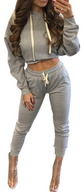 Item - Gray Activewear Outerwear Size OS (one size)