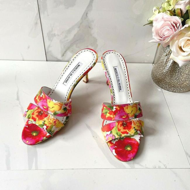 Item - Red Lacopo Sandals Size US 8 Regular (M, B)