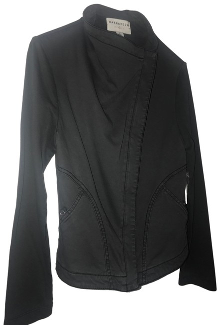 Item - Charcoal Asymmetrical Gray From Jacket Size 6 (S)